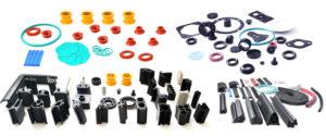 Zdjęcie uszczelek i wyrobów silikownowych, gumowych